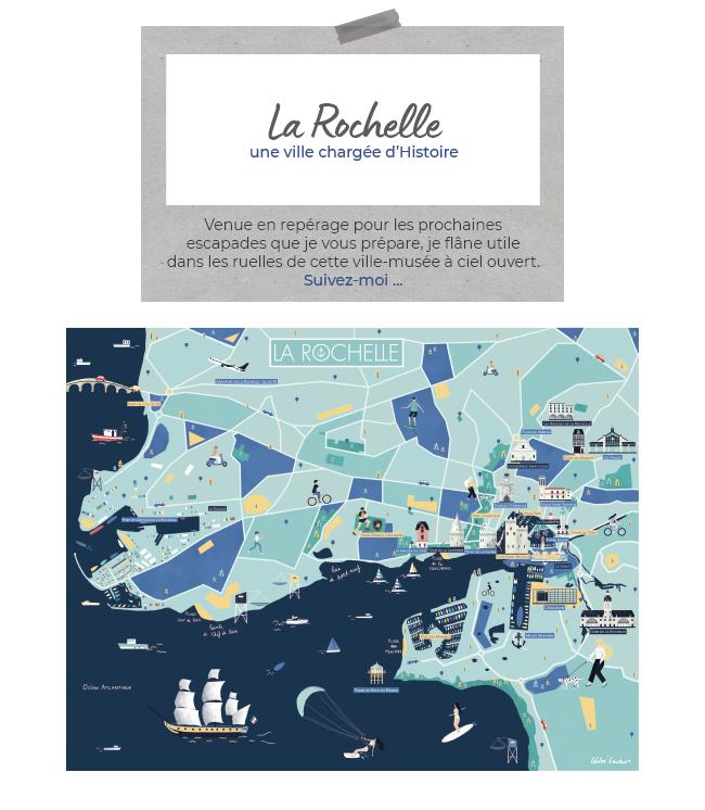 La Rochelle, une ville chargée d'Histoire   Venue en repérage pour les prochaines escapades que je vous prépare, je flâne utile dans les ruelles de cette ville-musée à ciel ouvert. Suivez-moi ...